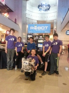 Students planned, built and programmed the robot.